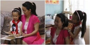 Bé gái 10 tuổi tự tay chăm sóc mẹ mất trí nhớ 4 năm trời