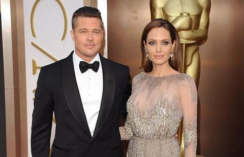Brad Pitt và Angelina Jolie không muốn các con tổn thương