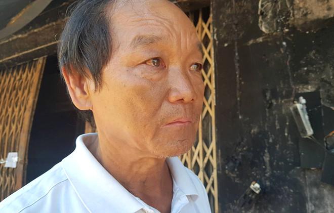 """Xe bồn chở xăng cháy ở Bình Phước: """"Vợ con nó chết hết rồi"""""""