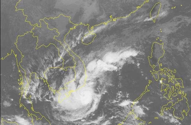 Bão số 9 chệch xuống phía Nam, từ chiều nay Sài Gòn có mưa rất to