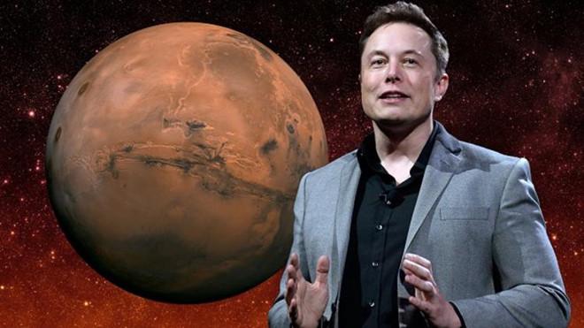 """Elon Musk: """"70% tôi sẽ lên sao Hoả"""""""