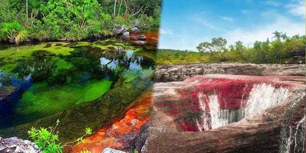 Dòng sông có khả năng bách biến 5 màu