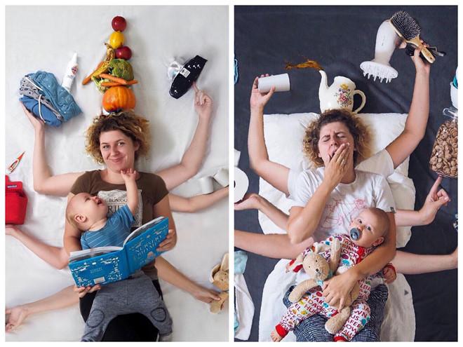 """Bà mẹ thời công nghệ: Thích """"sống ảo"""" dù rất bận rộn"""