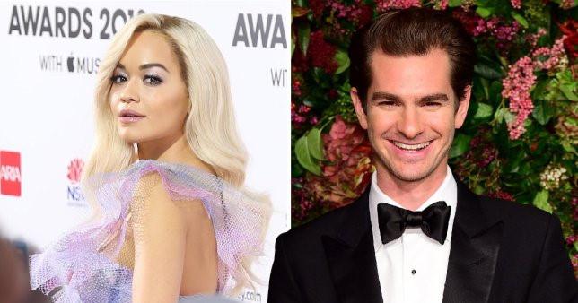 """Rita Ora bí mật hẹn hò """"Người Nhện"""" Andrew Garfield"""