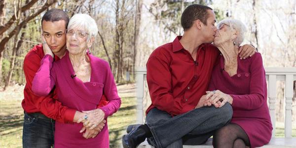 Cụ bà 91 tuổi và chuyện tình 5 năm với trai trẻ 31 tuổi
