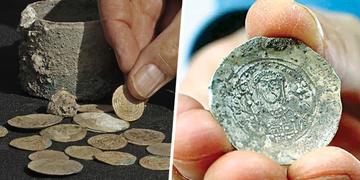 Tìm thấy những cổ vật bằng vàng với niên đại hơn 900 năm ở Israel