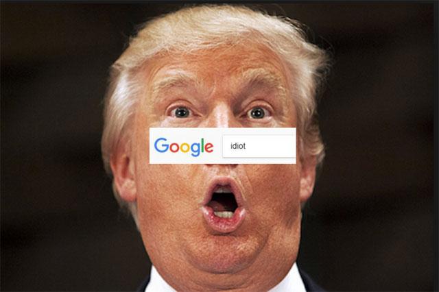 """CEO Google lý giải vì sao ảnh ông Trump xuất hiện khi tìm từ """"idiot"""""""