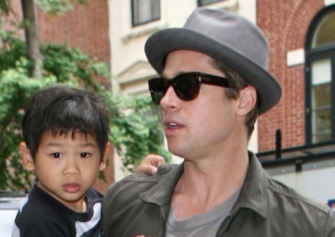 Brad Pitt từng không muốn nhận nuôi con trai gốc Việt Pax Thiên?