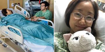 Cô gái được cứu sống bất ngờ vì quen bạn trai qua mạng