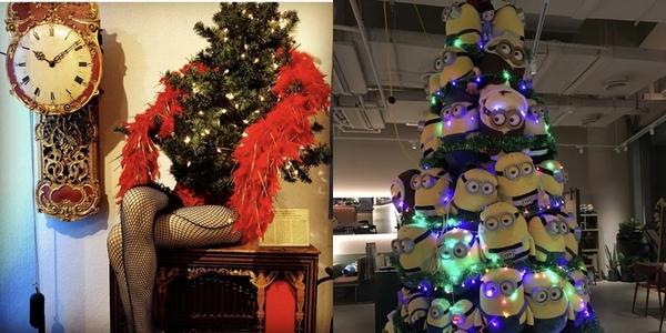 Cây thông Noel độc lạ từ khắp nơi trên thế giới