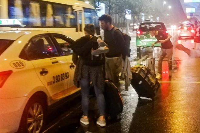 Bắt tài xế tông nhân viên an ninh hàng không Đà Nẵng