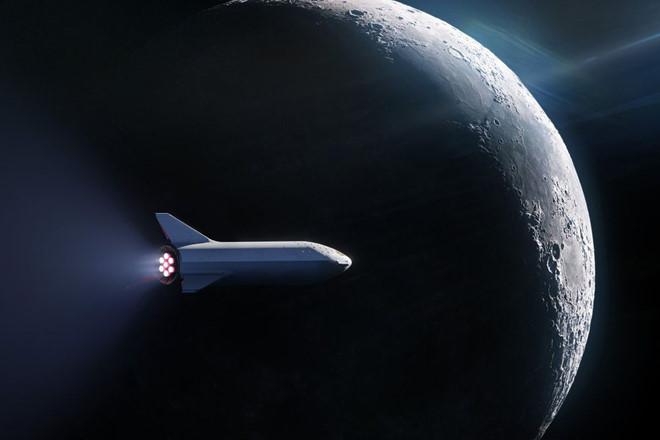 Elon Musk khoe tên lửa có thể đi đến mặt trăng, sao hỏa
