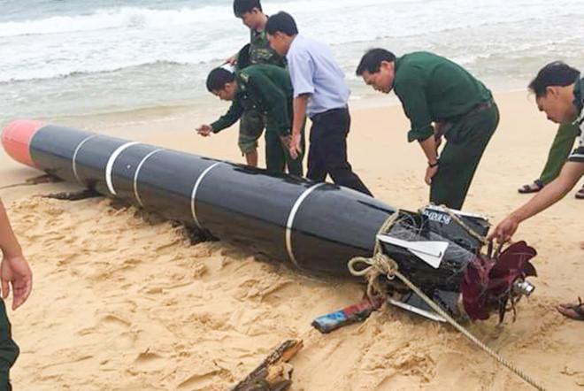 Vật thể lạ ở biển Phú Yên là ngư lôi nước ngoài