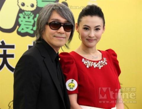 Trương Bá Chi lên tiếng về tin đồn có con với Châu Tinh Trì