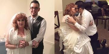 Cụ bà 71 kết hôn với thiếu niên 17 tuổi gây nhiều tranh cãi