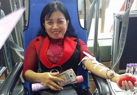 Nữ giáo viên mầm non 18 lần hiến máu cứu người