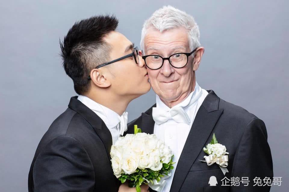 Phát sốt chàng trai 24 tuổi kết hôn cụ ông 75 tuổi tại Đài Loan