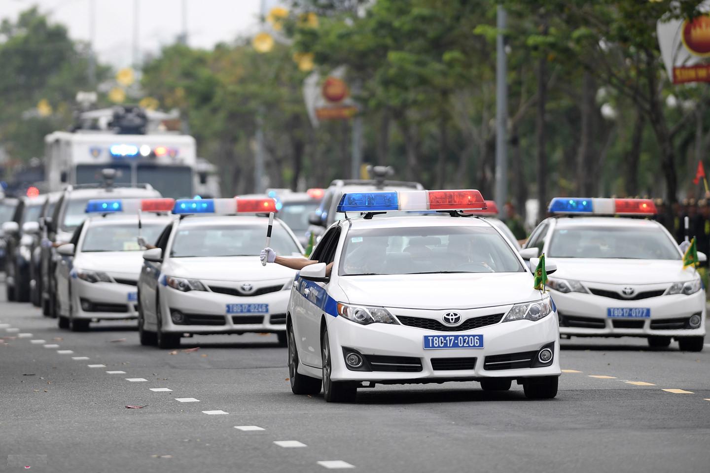 Dàn xe đặc chủng dự kiến dẫn đoàn nguyên thủ Mỹ - Triều Tiên