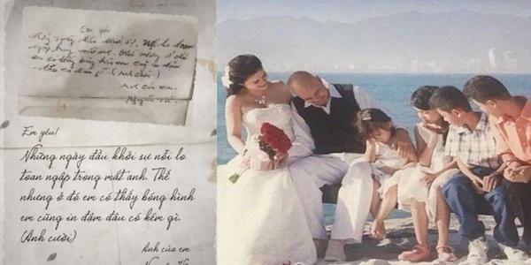 Bức thư tay Vua Cà phê Đặng Lê Nguyên Vũ gửi vợ