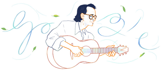 Google vinh danh nhạc sĩ Trịnh Công Sơn vào ngày sinh nhật thứ 80