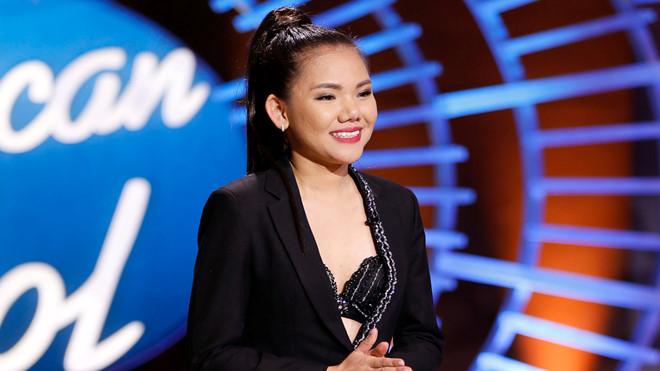 Sao Việt tự hào với tiết mục bùng nổ American Idol của Minh Như