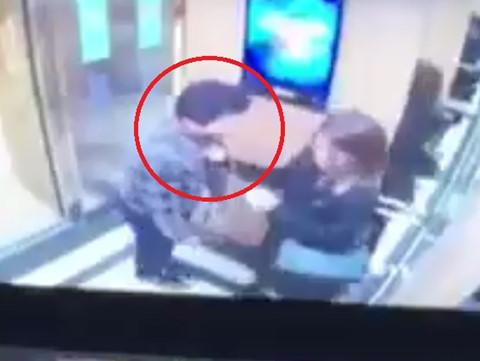 Nữ sinh bị sàm sỡ, cưỡng hôn trong thang máy