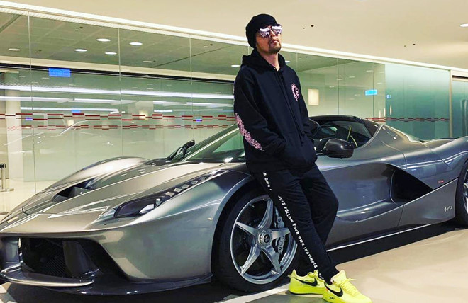 Châu Kiệt Luân là tay chơi siêu xe đẳng cấp bậc nhất showbiz