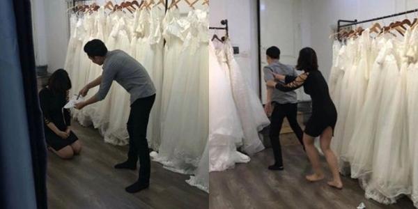 Thanh niên chờ ngày thử váy cưới nói chia tay bạn gái