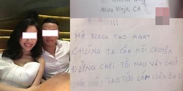 Block bạn trai vì cãi cọ, cô nàng nhận thư chuyển phát nhanh kì lạ