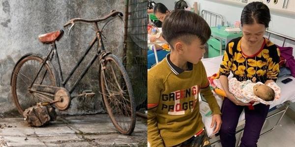 Cậu bé 13 tuổi đạp xe hơn 100km ra Hà Nội thăm em