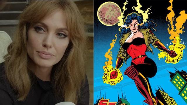 Angelina Jolie có thể sớm đầu quân cho Vũ trụ Điện ảnh Marvel
