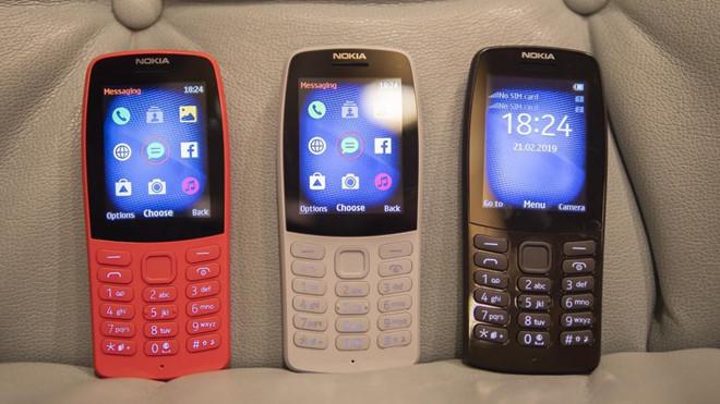 """""""Cục gạch"""" Nokia 210 về Việt Nam, giá hơn 700.000 đồng"""