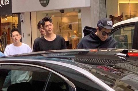 Bộ ba sao nam ăn chơi khét tiếng Trung Quốc tụ tập sau vụ Seungri