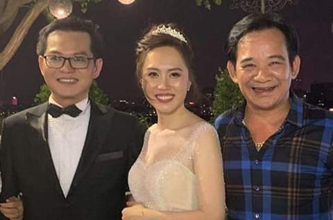 Đông đảo nghệ sĩ miền Bắc dự đám cưới lần 3 của NSND Trung Hiếu