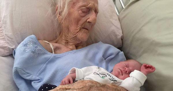 Cụ bà 101 tuổi hạ sinh đứa con thứ 17 bằng phương pháp không ngờ