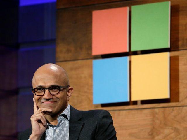 """Microsoft cán mốc """"nghìn tỷ USD"""", trở thành công ty có giá trị lớn nhất thế giới"""