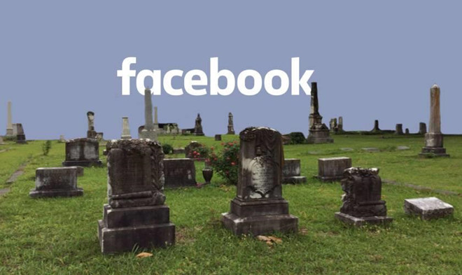 50 năm nữa, người chết trên Facebook sẽ nhiều hơn người sống
