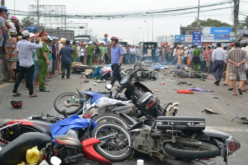 96 người tử vong do tai nạn giao thông trong dịp nghỉ lễ 30/4