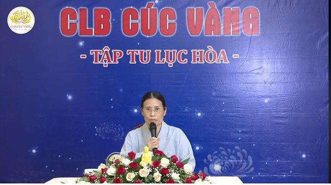 Bà Phạm Thị Yến lại đăng đàn thuyết giảng