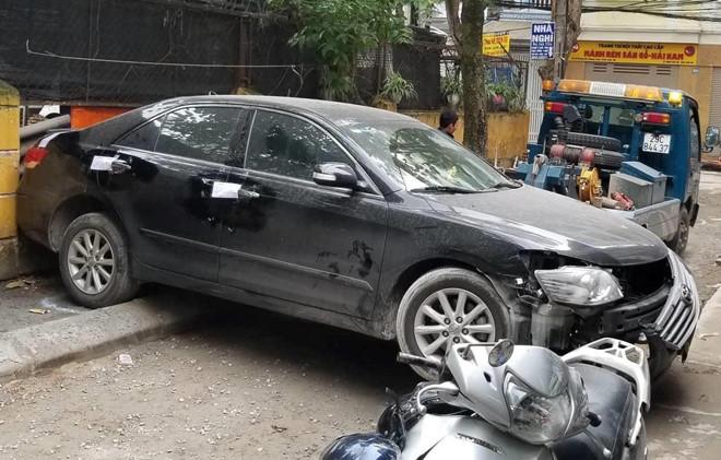 Tài xế lái Toyota Camry lùi chết người là đại tá công an
