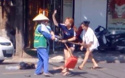 Chủ cửa hàng đánh nữ lao công ở Quảng Trị bị phạt 2,5 triệu đồng