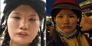 Cô gái khuyết tật bị bom hàng gây phẫn nộ
