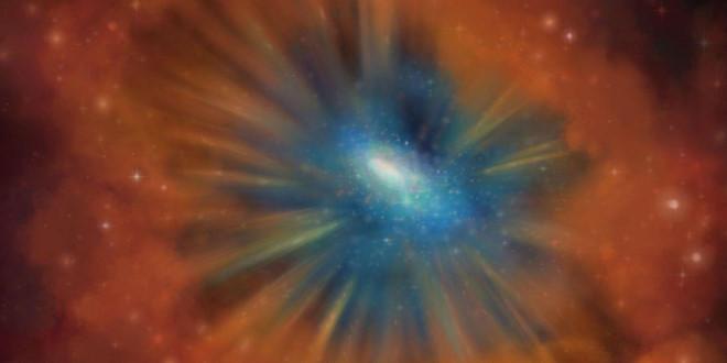 Phát hiện loại thiên hà mới, cực kỳ hiếm gặp ngay khi nó sắp chết