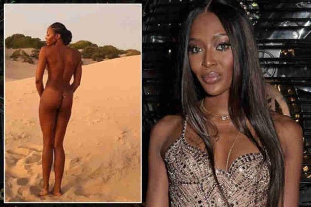 Siêu mẫu người Anh chụp ảnh khỏa thân trên sa mạc ở tuổi 49