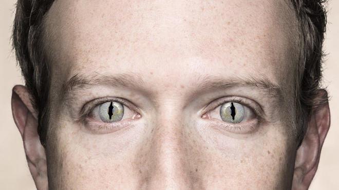 """CEO Facebook bị nghi là """"thằn lằn đội lốt người"""", mưu đồ bá vương"""