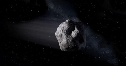 Một thiên thạch vừa va chạm với Trái Đất