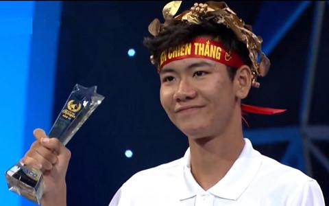 Nam sinh Thái Bình chiến thắng cách biệt tại cuộc thi tuần Olympia