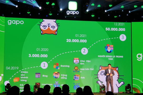 Mạng xã hội Gapo ra mắt, hứa hẹn chia sẻ doanh thu với người dùng