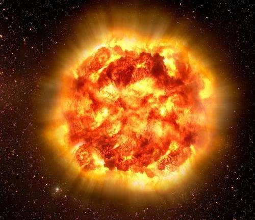Mặt trời 'giãy chết' sẽ trông như thế này