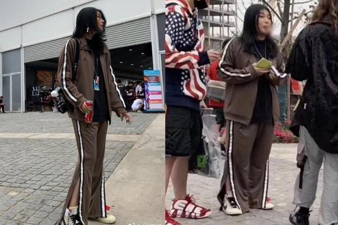 Hot girl Trung Quốc lộ chân ngắn, khác xa ảnh ảo đăng trên mạng